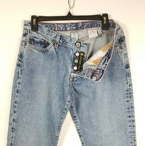 Lucky Brand Diva Jeans 31x30 Button Fly Dungarees